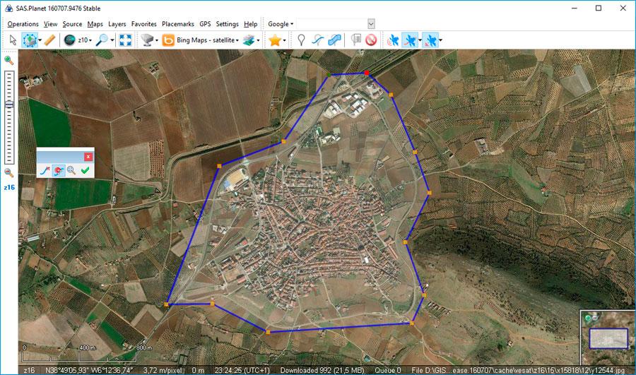Descargar imagenes satelitales con SAS Planet