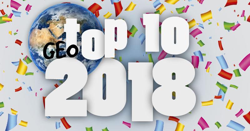 Los post cartográficos más vistos en 2018