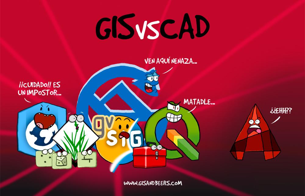 GIS vs CAD