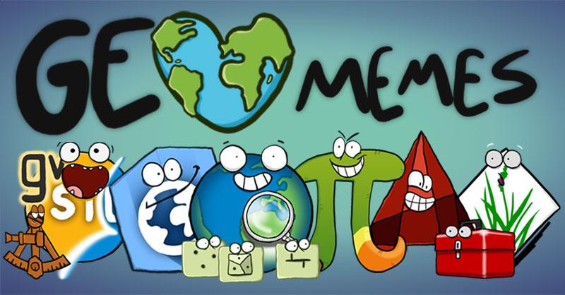 GeoMEMES, memes cartográficos con humor