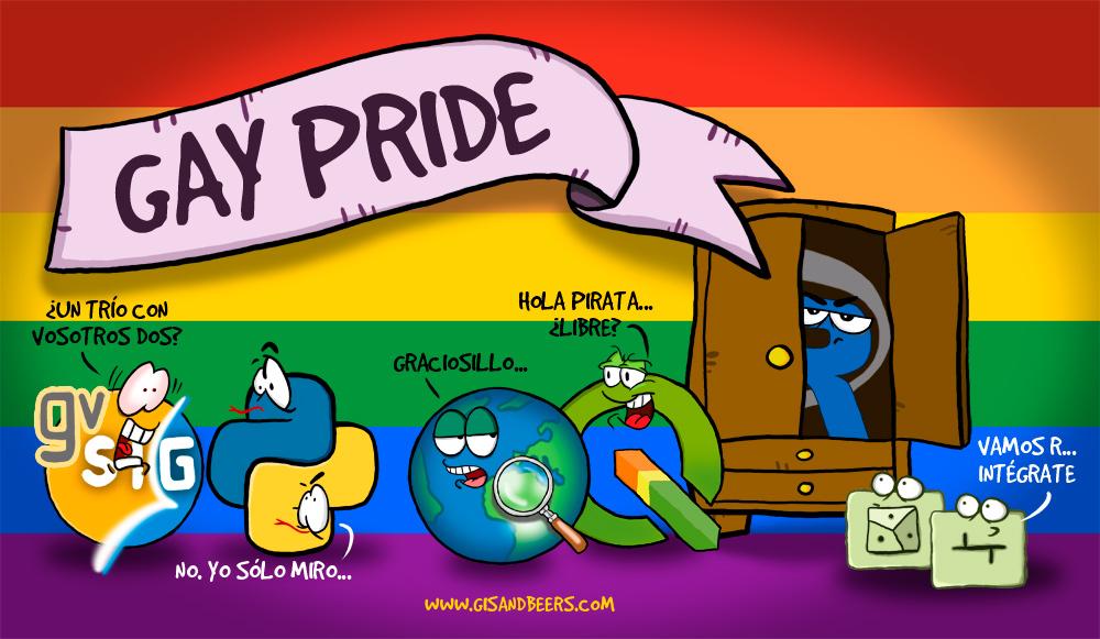 Gay Pride LGTBIQ+