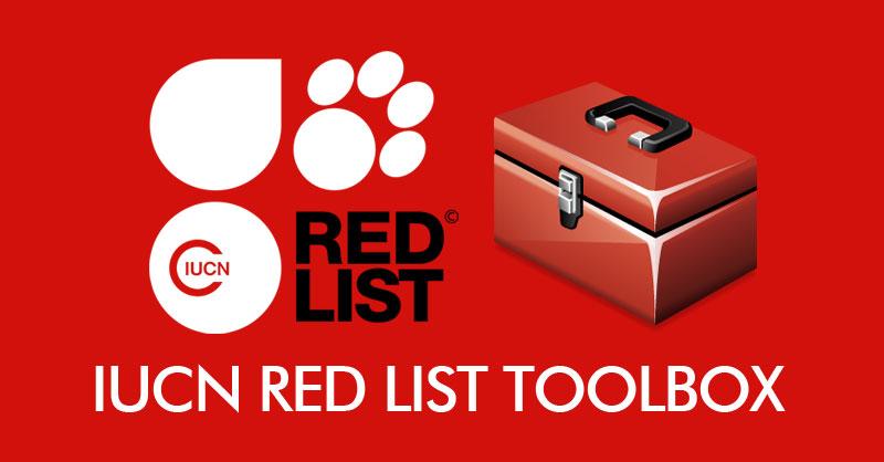 IUCN Red List Toolbox para gestionar especies