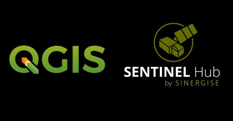 Plugin para servicios WMS Sentinel en QGIS
