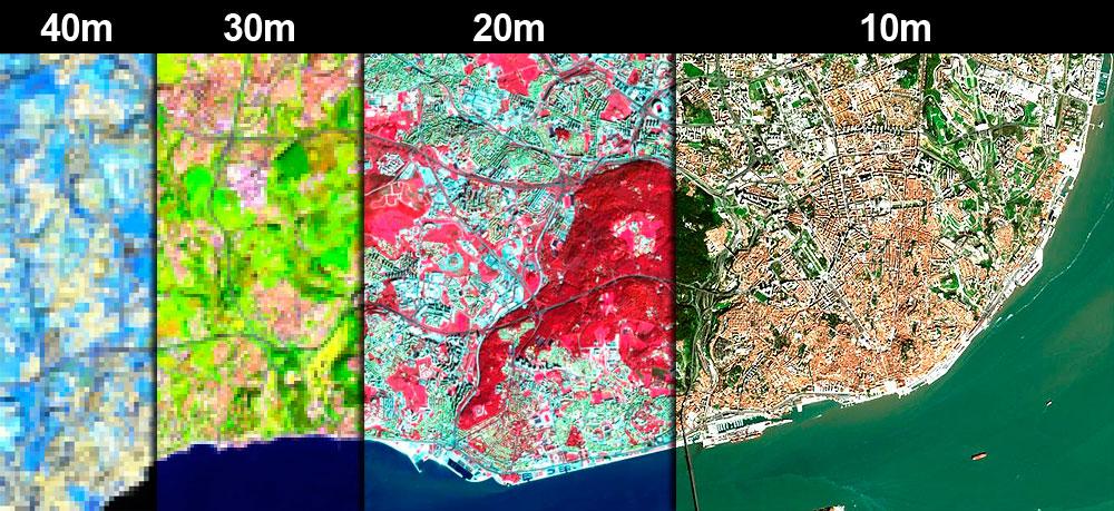 Pansharpening: mejorando la resolución de imágenes satélite
