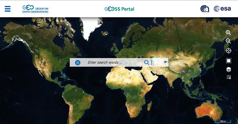GEOSS: el buscador de recursos satélite