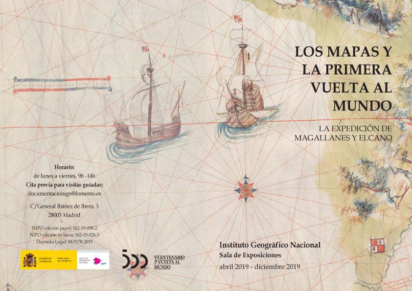 Exposición cartográfica Los mapas y la primera vuelta al mundo