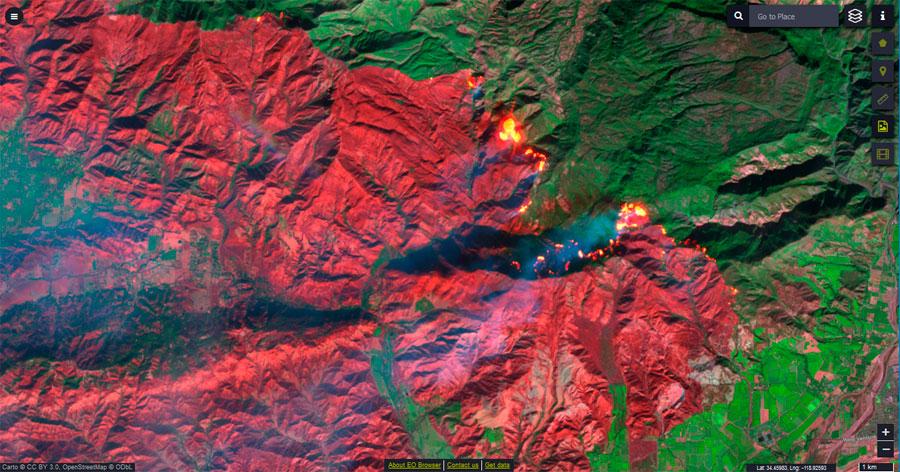 Scripts para imágenes satelitales