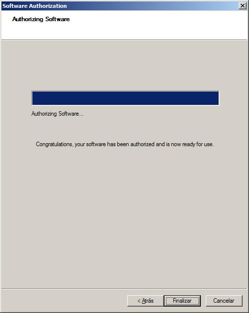 Licencia de ArcGIS Autorizada