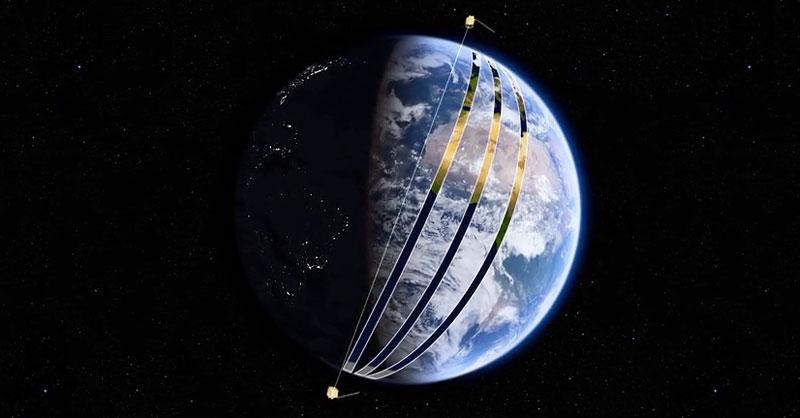 Malla mundial de barrido de Sentinel 2