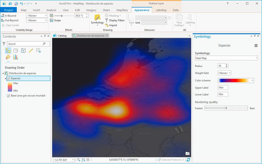 Cómo crear mapas de calor HeatMaps - Gis&Beers