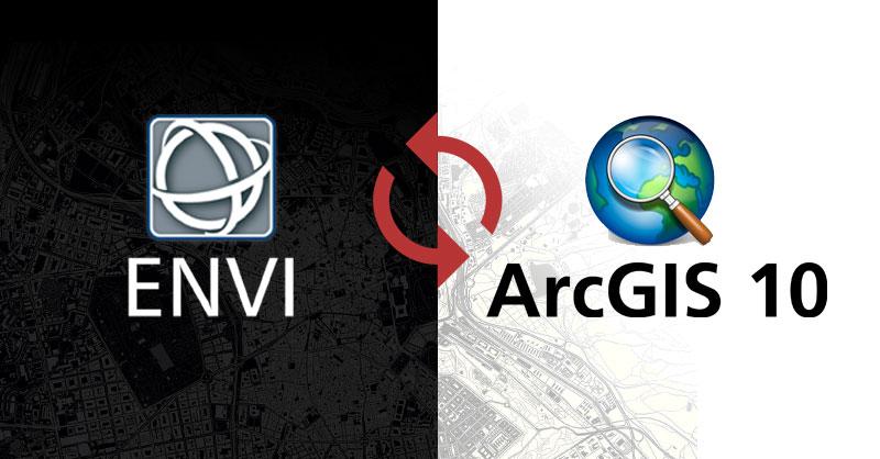 Sincronizar ArcGIS y ENVI