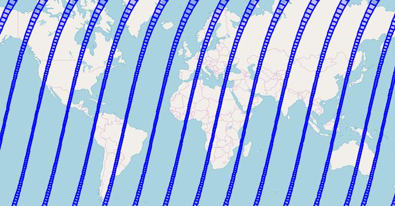 Landsat Acquisition Tool: el calendario de Landsat