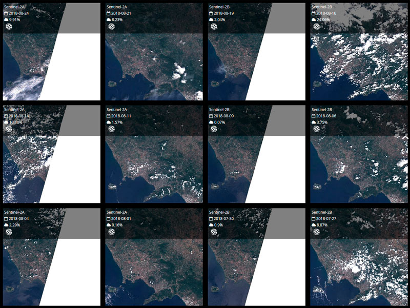 Preview imágenes satelitales