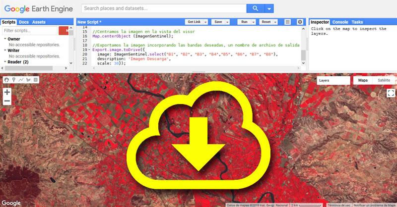 Descargar imágenes en Goolge Earth Engine