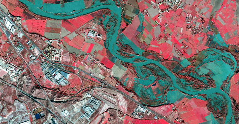 Imágenes satélite en alta resolución