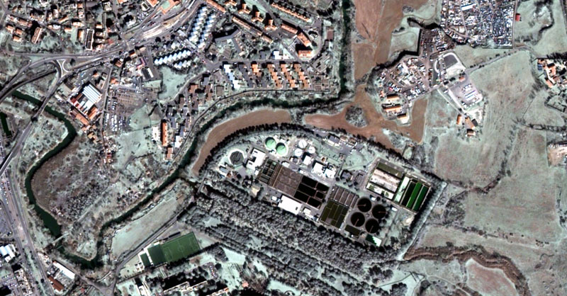 Imágenes satélite Deimos español