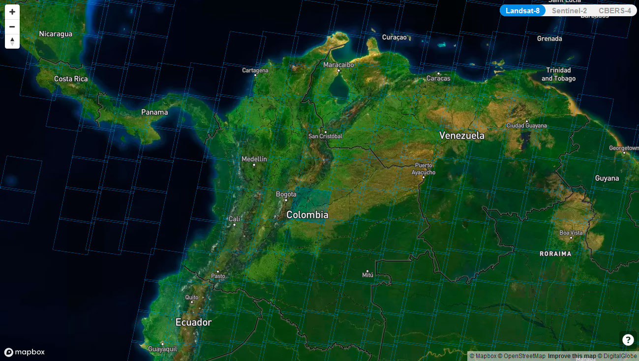 Remote pixel imagenes Landsat