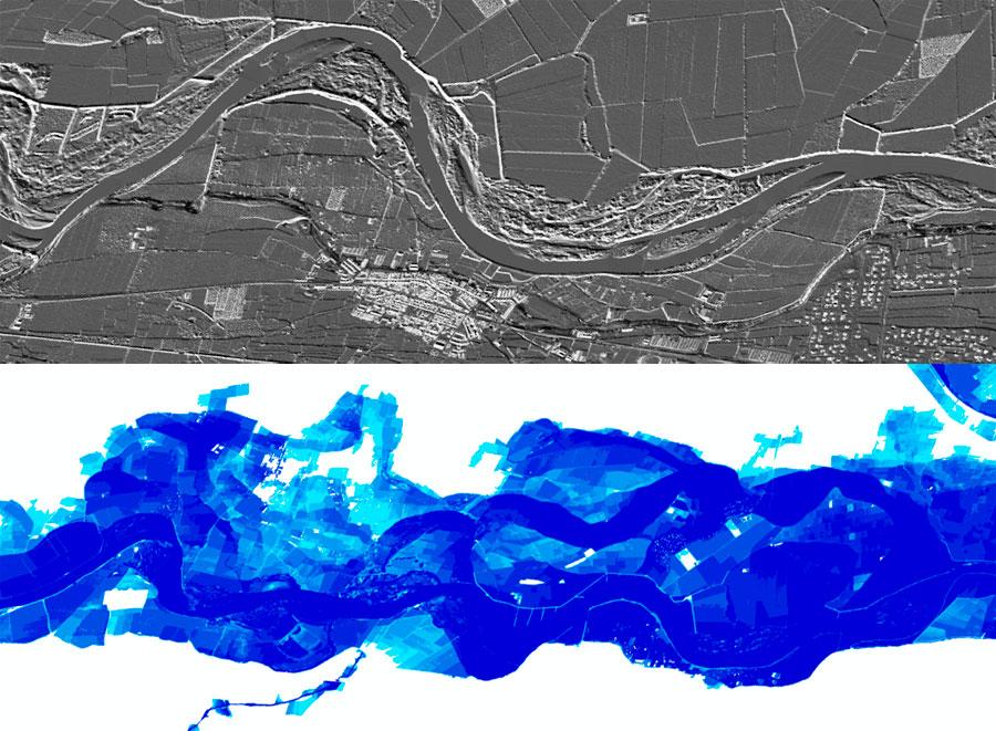 Mapas de peligrosidad y riesgo de inundación