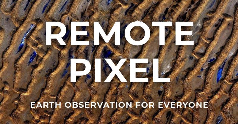 Remote pixel para descarga de imágenes satélite