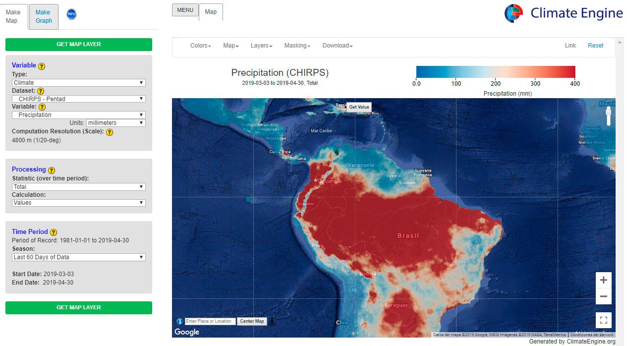 Descargar datos climáticos mundiales
