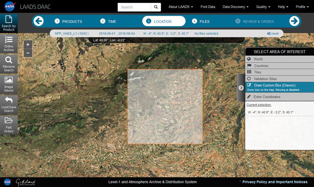 Imágenes satélite nocturnas con Suomi NPP