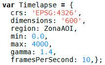 Creación de timelapses en Google Earth Engine