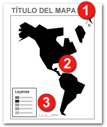 Partes de un mapa