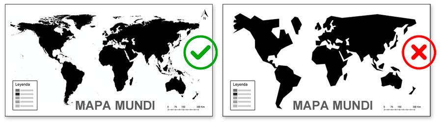 Escala y resolución de mapas