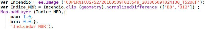 Script para simbolizar imágenes en Google Earth Engine