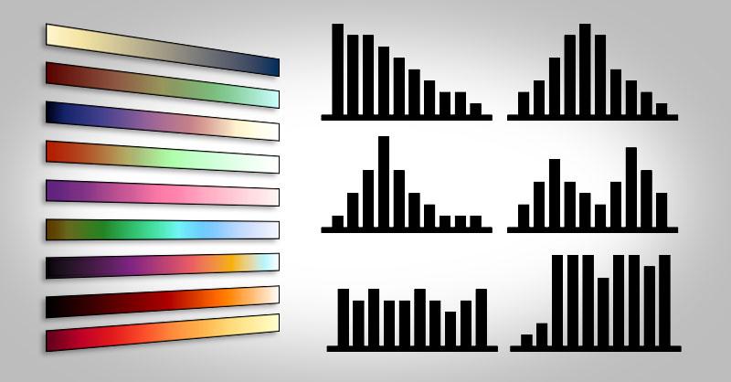 Simbología de colores en QGIS, ArcGIS y gvSIG