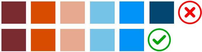 Colores para simbolizar mapas