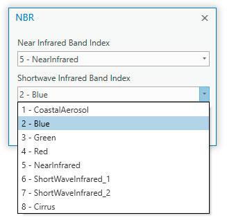 Cómo calcular índices espectrales en ArcGIS Pro