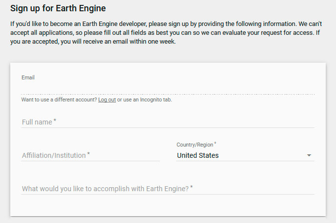 Activar Google Earth Engine