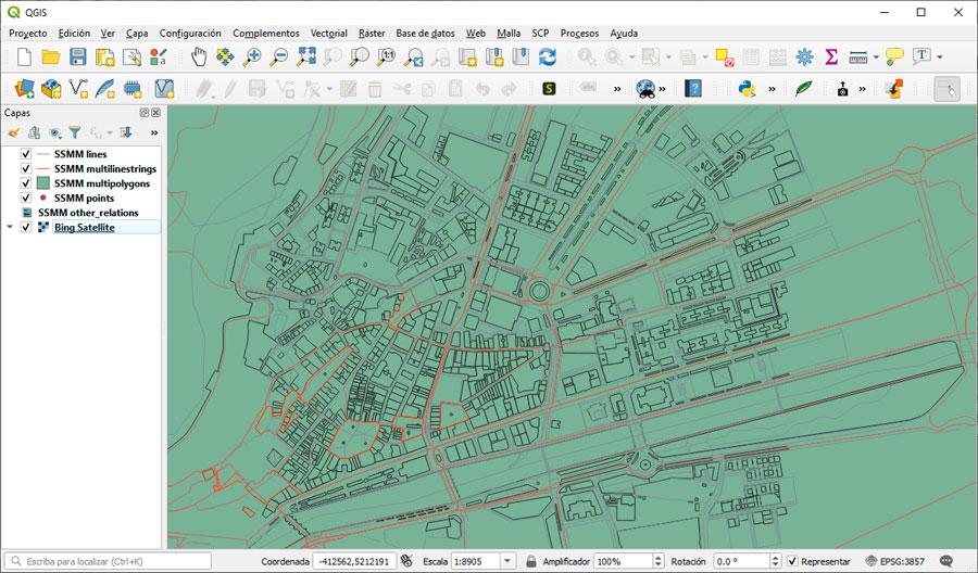 Cómo descargar cartografía OpenStreetMap de su callejero