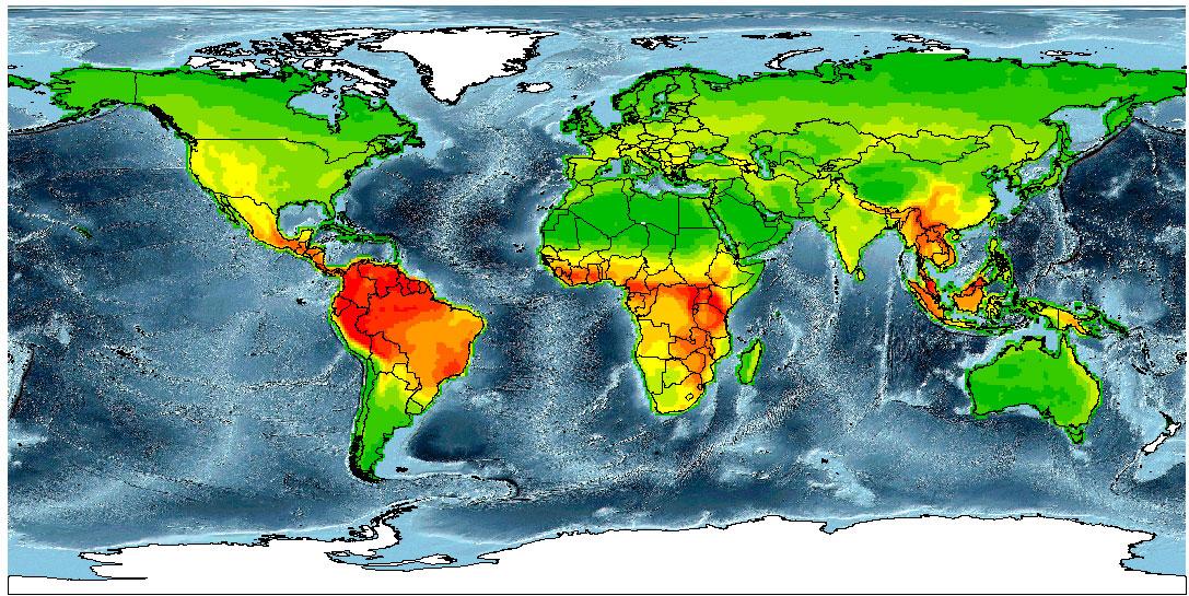 Elaboración de mapas de riqueza de especies