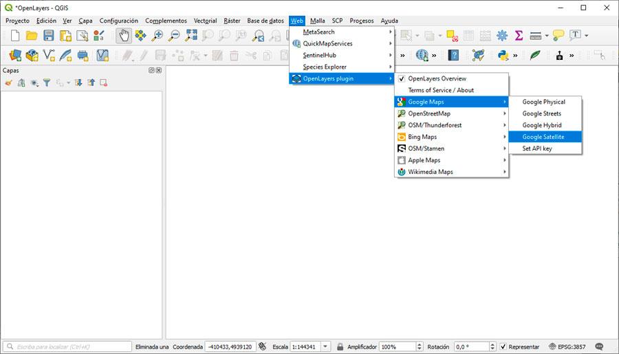 OpenLayers: el plugin más descargado de QGIS
