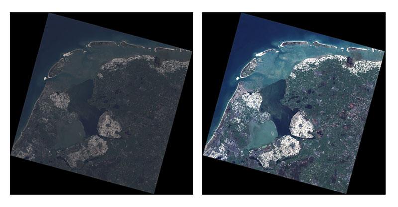 Corrección atmosférica de Landsat en QGIS
