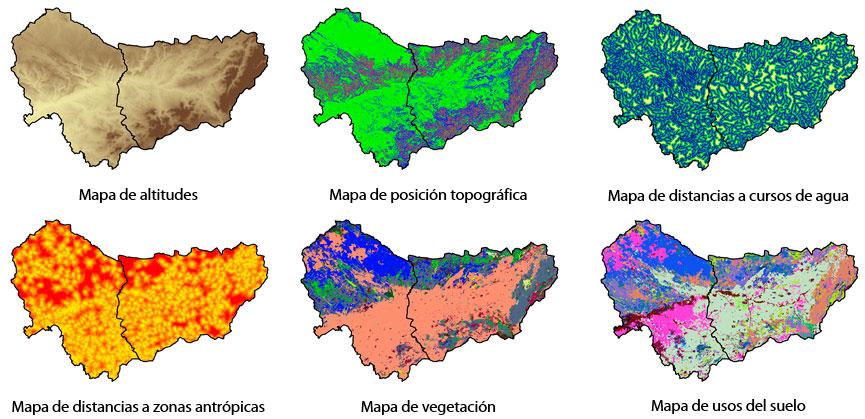 Variables cartográficas ambientales para la conservación del territorio