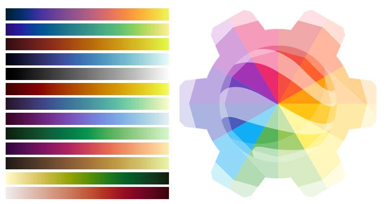 Colección de paletas de color para Google Earth Engine