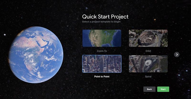 Guía de inicio rápido de Google Earth Studio