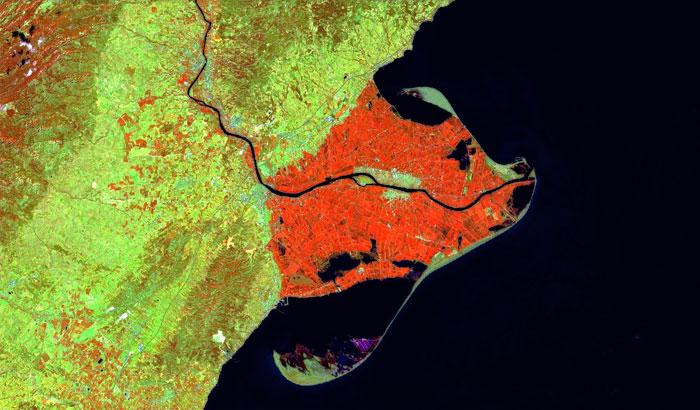 Filtros satelitales de imágenes Sentinel 2