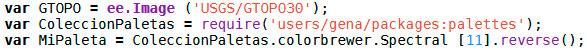 Invertir simbología de color GIS