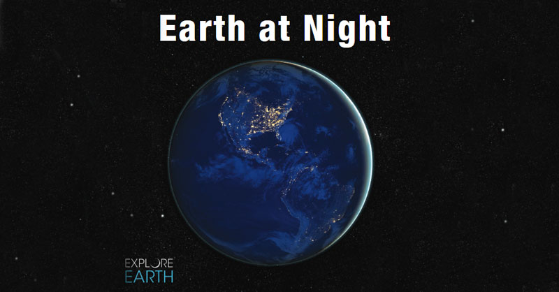 Libro Earth at Night, las imágenes nocturnas de la NASA