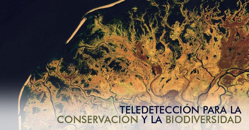 Webinar teledetección para la conservación y biodiversidad
