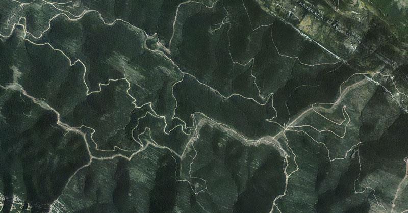 Planificación de caminos forestales en QGIS con Forest Roads Network
