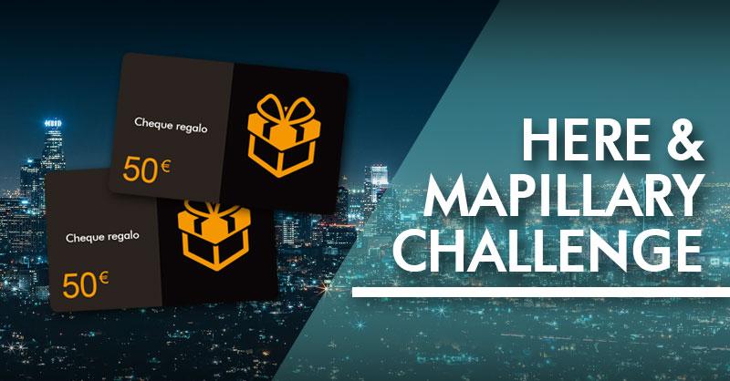 Gana 50€ mapeando el mapa de HERE y Mapillary