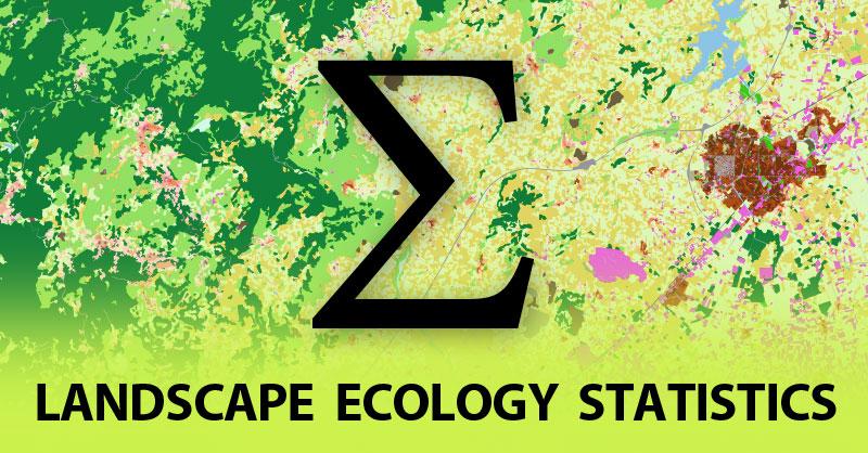 Landscape Ecology Statistics para análisis de índices paisajísticos