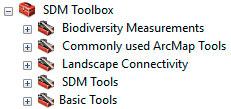 SDM Toolbox para ArcGIS