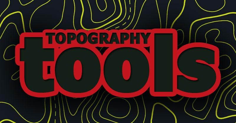 Topography Tools: el toolbox de herramientas de análisis topográfico