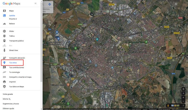 Cómo hacer un mapa en Google Maps